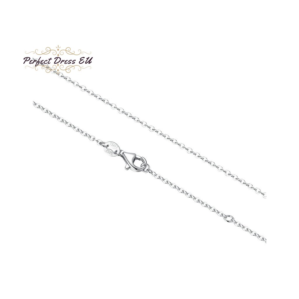 9 BAMOER Classic Basic Chain 100 925 Sterling Silver Lobster Clasp Adjustable Necklace Chain Fashion Jewelry SCA009