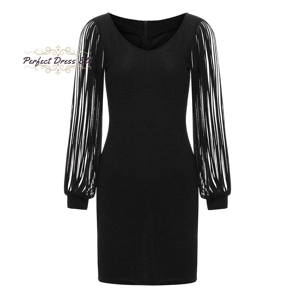 Flitrové večerní šaty FashionEU
