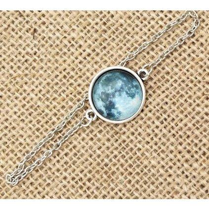 Originalní náramek měsíc svítící ve tmě (4)