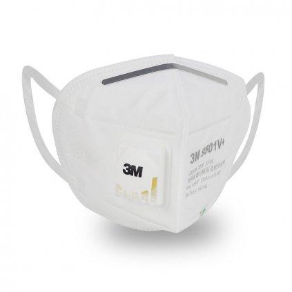 Ochranný respirátor proti virům 3M s prodyšnou maskou a ventilem (1)