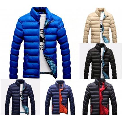 Zimní bunda pro muže s podšivkou až 6 xl