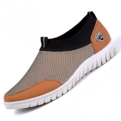 Pánské podyšné nasazovací sportovní boty (1)