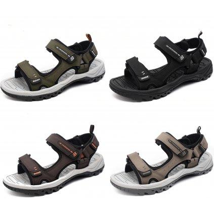 Páskové panské sandály na sport (11)
