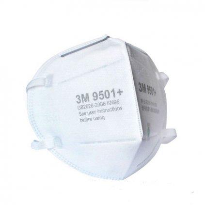3M 9501V respirátor FFP2 KN95 bez výdechového ventilku (11)