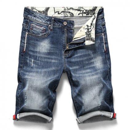 Modní džínové šortky pro pány (1)