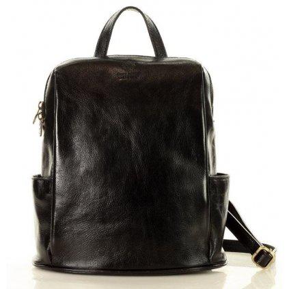 Elegantní kožený batoh dámský made in Italy MARCO MAZZINI