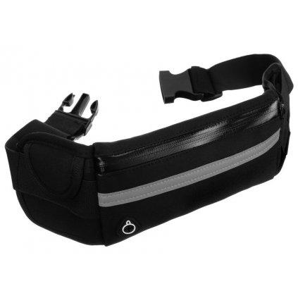 Unisex bederní taška ledvinka s elastickým, nastavitelným pasem