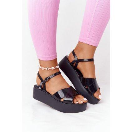 Voňavé Gumové Sandály Eco Friendly ZAXY HH285132 černé