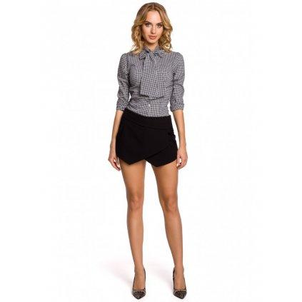 Elegantní dámské šortky připomínající sukni MOE M091
