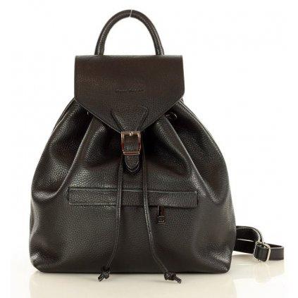 Klasický dámský batoh z pravé kůže Itálie MARCO MAZZINI