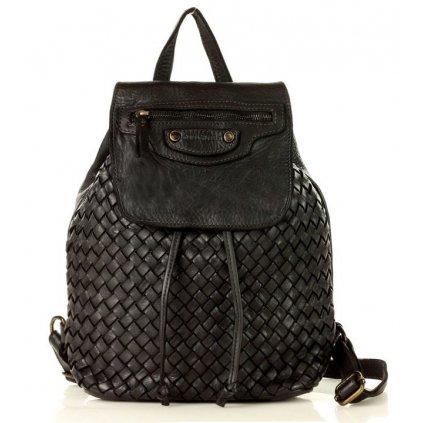 Městský kožený batoh pravá kůže handmade taška klasická
