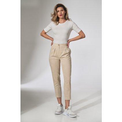 Dámské manšestrové kalhoty FIGL M742