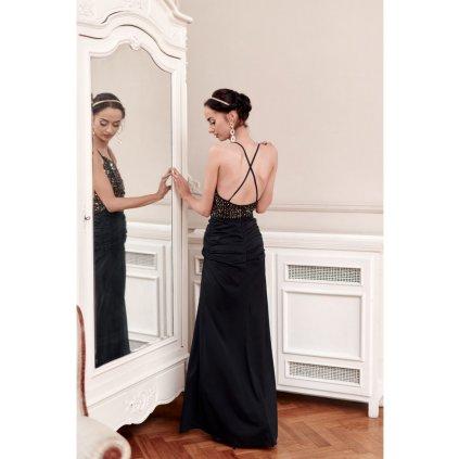 Maxi šaty s flitry