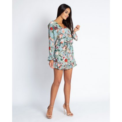 Vzdušné krásné šaty s květinami Emi DURSI