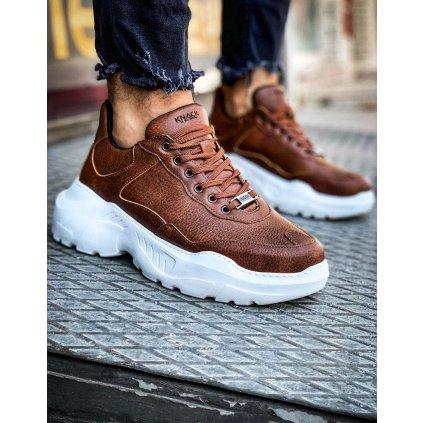 Sneakersy Pánské tenisky na vysoké platformě ZX0133