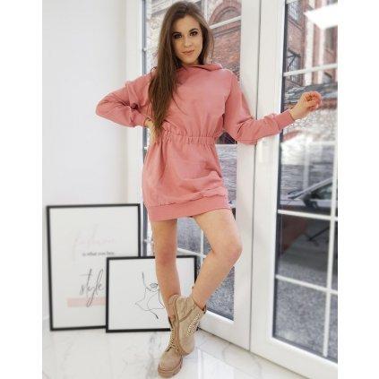 Dámské šaty AGGIE růžová Dstreet