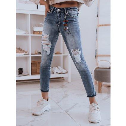 Dámské riflové kalhoty džíny SISTA modré Dstreet