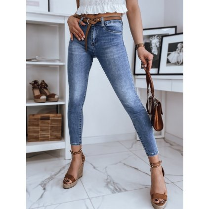 Dámské riflové kalhoty džíny SANDI modré Dstreet