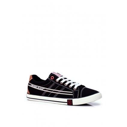 Pánské Tenisky Cross Jeans černé FF1R4041C