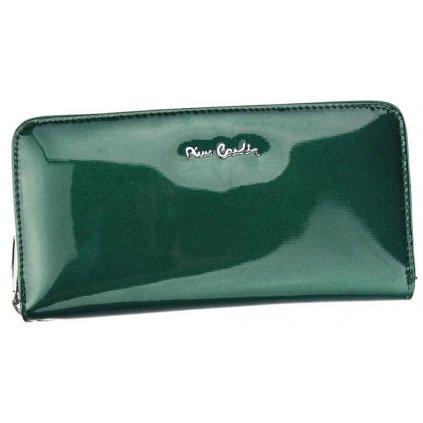 Velká dámská peněženka z lakované kůže - Pierre Cardin