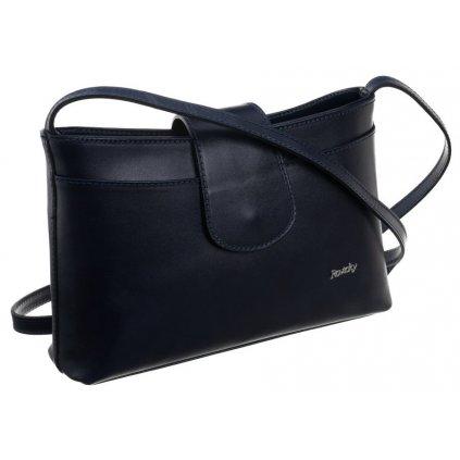 Podlouhlá taška crossbody kabelka z přírodní kůže Rovicky