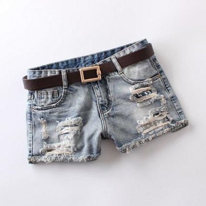 Dámské džínové šortky Gianina FashionEU