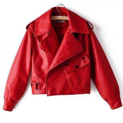 Dámská bunda z umělé kůže A1826 FashionEU