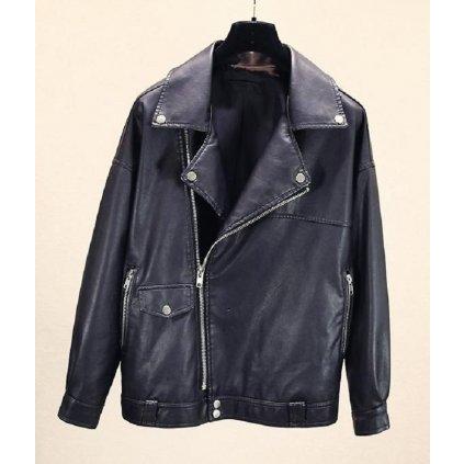 Dámská bunda z umělé kůže A1838 FashionEU