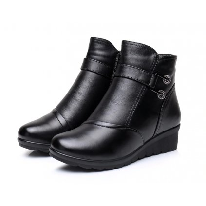 Dámské zimní kotníkové boty FashionEU