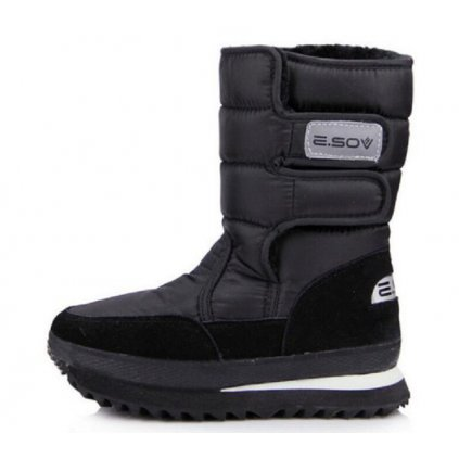 Dámské zimní boty na suchý zip - 10 barev FashionEU