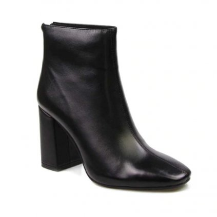 Dámské zimní kotníkové boty na podpatku FashionEU