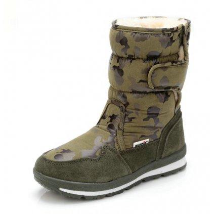 Zimní boty s armádním vzorem - 5 barev FashionEU