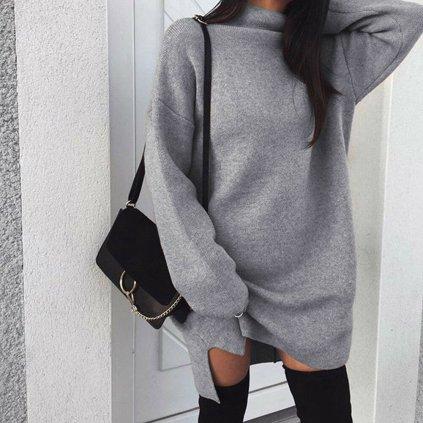 Dámské svetrové šaty B16 FashionEU