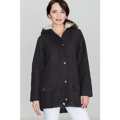 Teplá bunda s kapucí K306 LENITIF