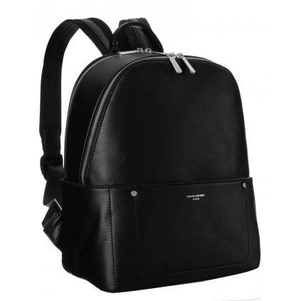 Dámský dvoukomorový batoh z ekokůže s kapsou na notebook