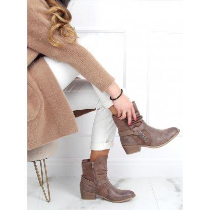 Dámské boty v kovbojském stylu Z1122