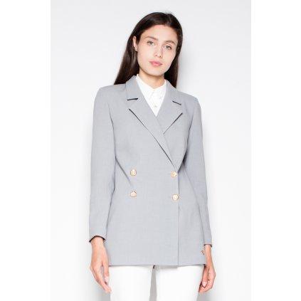 Elegantní sako s dlouhými rukávy VT088 VENATION