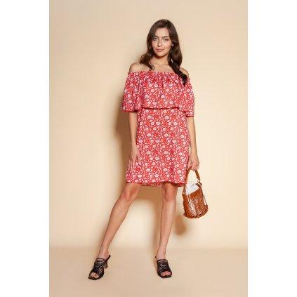 Krátké španělské šaty SUK201 se vzory LANTI