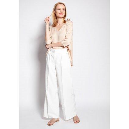 Klasické kalhoty s vysokým pasem SD111 LANTI