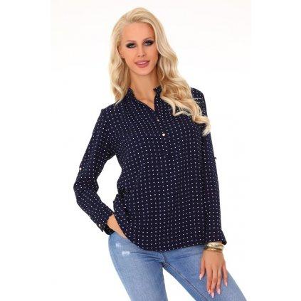Dámská tečkovaná košile Herenui 85295 MERRIBEL