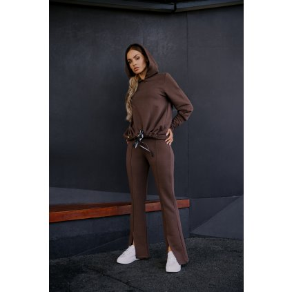 Teplákové kalhoty se širokými nohavicemi L401B LEMONIADE