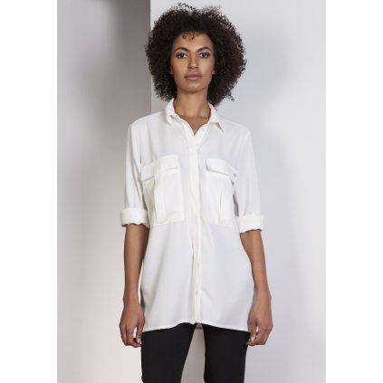 Jemná košile dámská oversize K108 LANTI