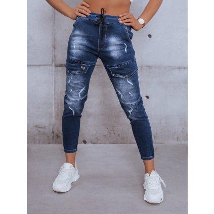 Kalhoty dámské ESTEE tmavě modré Dstreet
