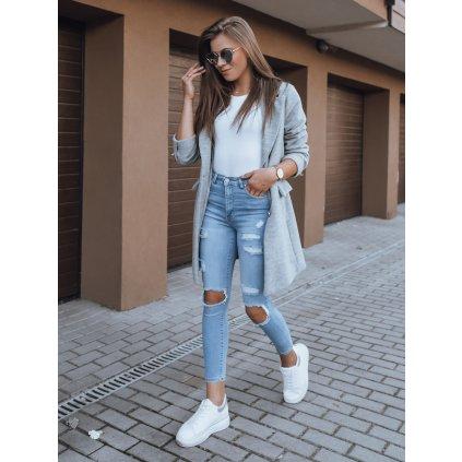 Dámské riflové kalhoty džíny TOLLY modré Dstreet