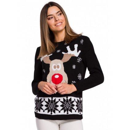 Vánoční svetr se soby MOE MXS04