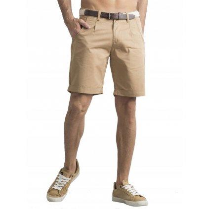 Ležérní látkové šortky
