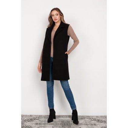 Dlouhá fleecová vesta dámská KM105 LANTI