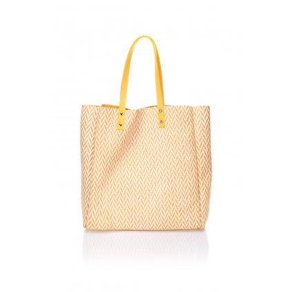 Vzorovaná shopper kabelka s kosmetickou taškou HOLLY