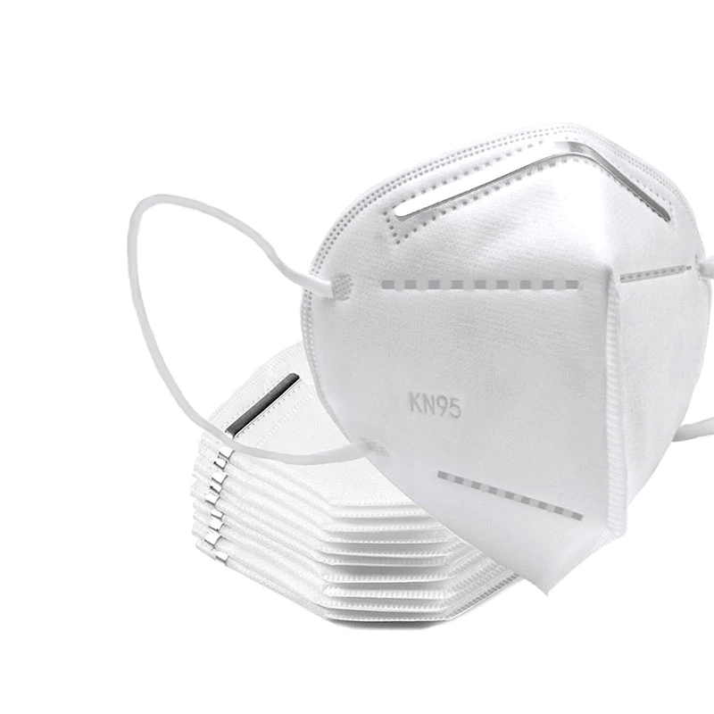 Respirační rouška Sunway respirátor FFP2 / KN95 bez vydechového ventilu Barva: Bílá