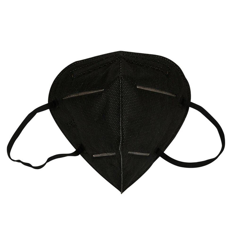 Respirační rouška Sunway respirátor FFP2 / KN95 bez vydechového ventilu Barva: Černá